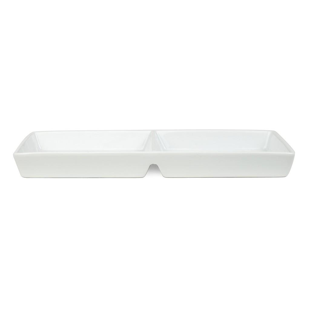 Rektangulärt Fat, 2 fack (6-pack)