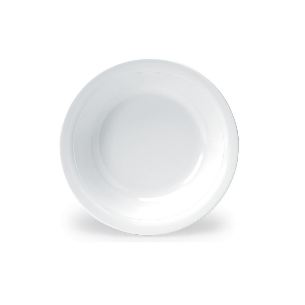 Melamin Tallrik Djup 21 cm (12-pack)