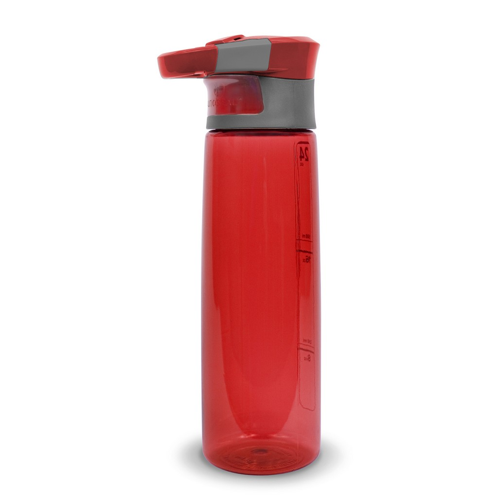 Water Bottle Hydration, Red