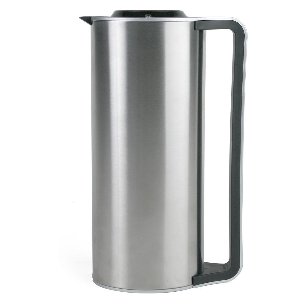 Kaffekanna, borstat stål