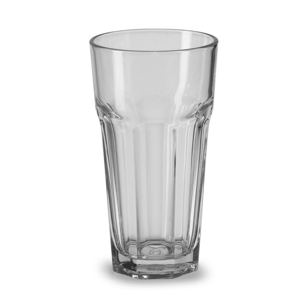 Cafe au lait glas