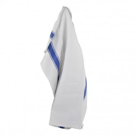 Kökshandduk med blå ränder (6-pack)