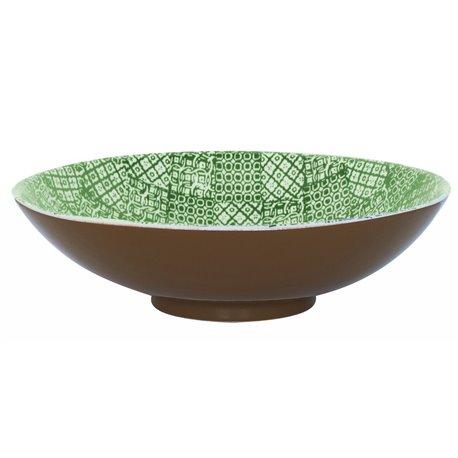 Minerva Salladsskål 40 cm, Grön