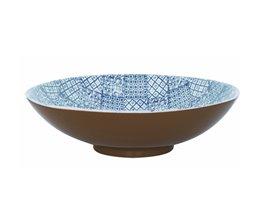 Minerva Salladsskål 35 cm, Blå