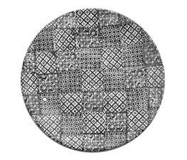 Minerva Tallrik 27,5 cm, Svart (4-pack)