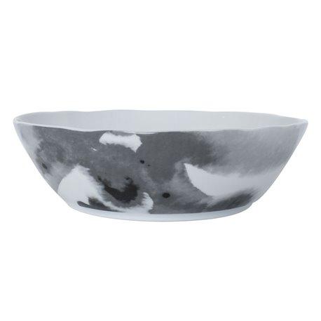 Juno Skål 24 cm Grå