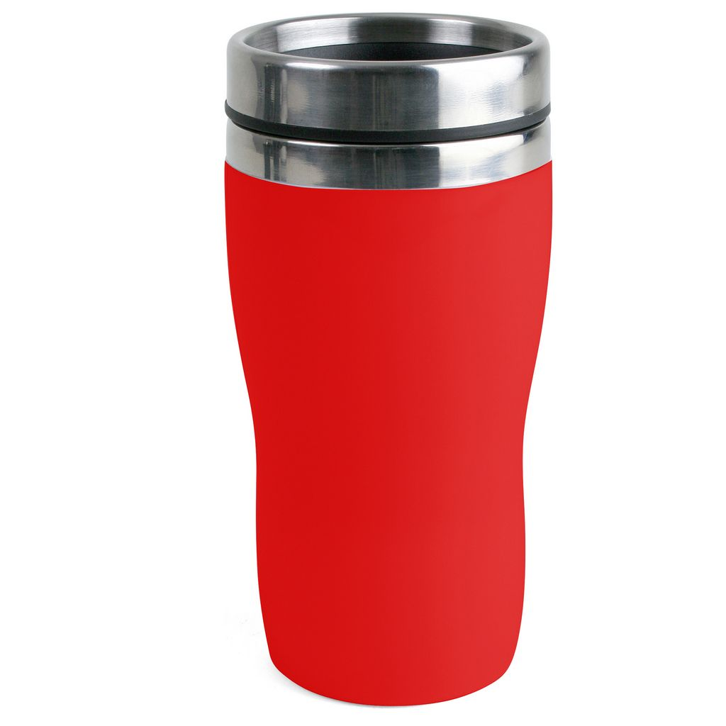Bilmugg 25 cl Röd