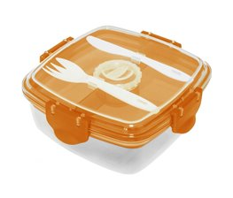 Lunchbox Orange