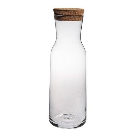 Aquaria Karaff med kork 1 L