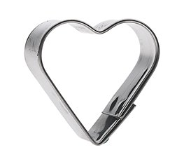 Kakmått Hjärta 8 cm