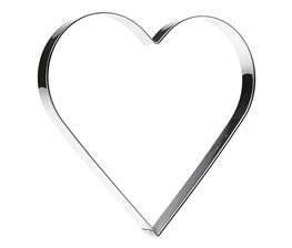 Kakmått Hjärta 15 cm