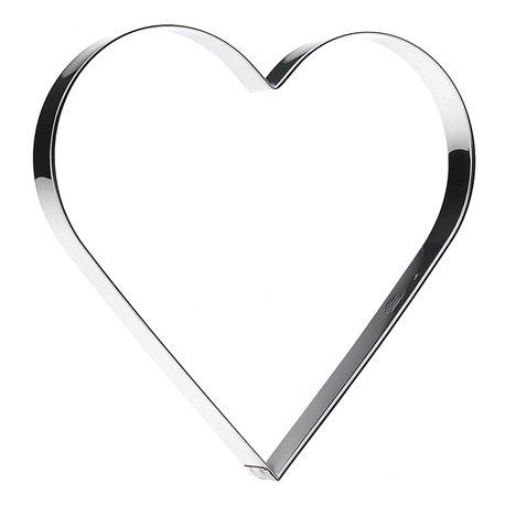Kakmått Hjärta 20 cm